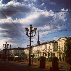 Photo taken at Piazza Vittorio Veneto by Diego S. on 8/13/2013
