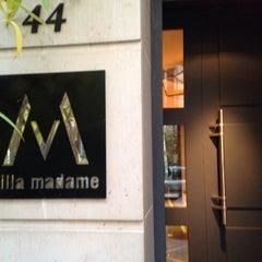 Photo taken at Villa Madame by Lola on 12/1/2013