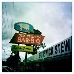 Photo taken at Old Clinton Bar-B-Q by Steven T. on 10/14/2013