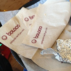 Photo taken at Boloco by David R. on 12/22/2012