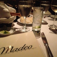 Photo taken at Madeo Restaurant by Merrill W. on 1/6/2013