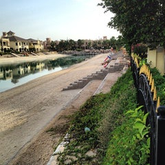 Photo taken at Palm Jumeirah Frond C by Khalid A. on 4/19/2013