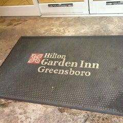 Photo taken at Hilton Garden Inn Greensboro by Jeremy T. on 7/22/2013