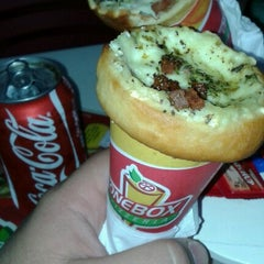 Photo taken at ConeBox Pizzeria by Carlos S. on 1/23/2013