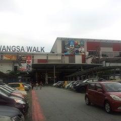 Photo taken at Wangsa Walk Mall by ayu_rahim on 11/11/2012
