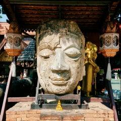 Photo taken at วัดเจ็ดลิน (Wat Chet Lin) by lordcolus L. on 10/1/2014