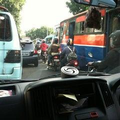 Photo taken at Jalan Raya Pasar Minggu by avilatika on 11/8/2012