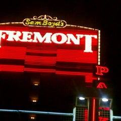 Photo taken at Fremont Hotel & Casino by Kathy C. on 2/17/2013