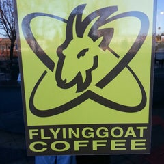 Photo taken at Flying Goat Coffee by James G. on 2/26/2013