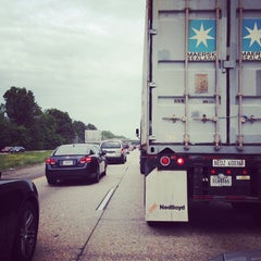 Photo taken at I-64 Exit 255: Jefferson Ave by Steven A. on 5/10/2014