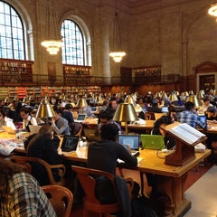 Photo taken at Rose Main Reading Room by José de Jesús C. on 4/29/2014