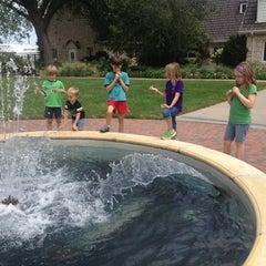 Photo taken at Kansas State University Gardens by Brandy on 8/2/2012