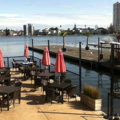 Photo taken at The Lake Chalet Seafood Bar & Grill by Meitar M. on 3/22/2012