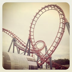 Photo taken at Enchanted Kingdom by Michael Imel F. on 10/28/2012