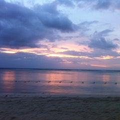Photo taken at Sugar Beach Mauritius Hotel Resort & Spa by Sebastien B. on 1/2/2013