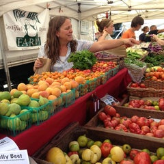 Photo taken at Palo Alto Farmers Market by Cassie | Ever In Transit on 6/29/2013