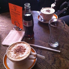 Photo taken at Caffe Reggio by Javier N. on 2/17/2013