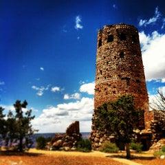 Photo taken at Desert View Watchtower by Matthew G. on 5/20/2013