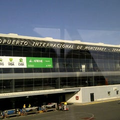Photo taken at Aeropuerto Internacional de Monterrey General Mariano Escobedo (MTY) by Fidel C. on 3/11/2013