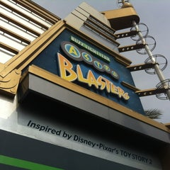 Photo taken at Buzz Lightyear Astro Blasters by Alicia B. on 3/29/2013
