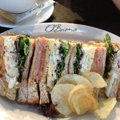 Photo taken at O'Briens Irish Sandwich Bar by Joanne on 11/27/2012