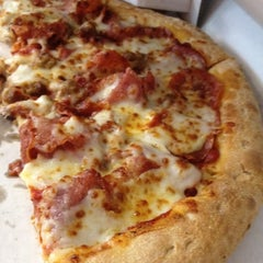 Photo taken at Papa John's Pizza by Andrea on 10/3/2012