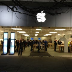 Photo taken at Apple Store, City Creek Center by Cindy S. on 11/17/2012