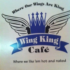 Photo taken at Wing King by Paul S. on 1/10/2013