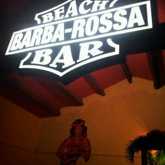 Photo taken at Barba Rossa Beach Bar Castelldefels by Marta C. on 5/1/2013
