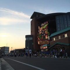 Photo taken at 立佞武多の館 by yu k. on 8/7/2015