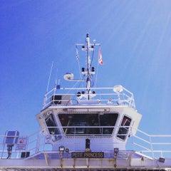 Photo taken at Petit Passage Ferry by Nicolas M. on 7/25/2015