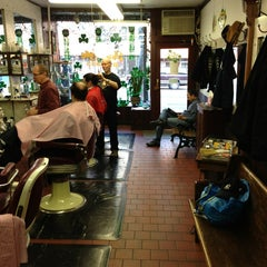Photo taken at Park Slope Barbers by Tony P. on 3/2/2013
