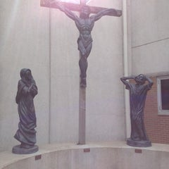 Photo taken at St. John the Evangelist by Kelly L. on 4/12/2014