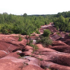 Photo taken at Cheltenham Badlands by Jenn K. on 6/15/2013