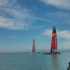 Photo taken at America's Cup Pavilion by AJ on 8/18/2013