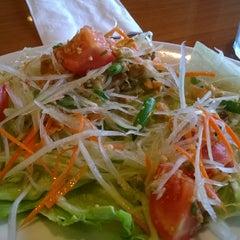 Photo taken at Thai Cafe by Babak L. on 6/13/2014