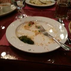 Photo taken at Saffron Indian Cuisine by Jason P. on 2/26/2013