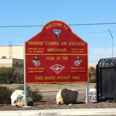 Photo taken at Marine Corps Air Station Miramar by Dee E. on 10/13/2012