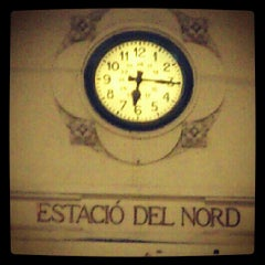 Photo taken at Estació del Nord by Anna L. on 2/1/2013