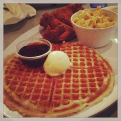 Photo taken at Home of Chicken and Waffles by Elvis A. on 2/3/2013