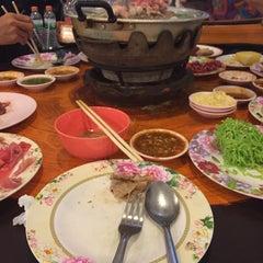 Photo taken at Sinthorn Steak House by Nan T. on 10/26/2015
