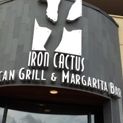 Photo taken at Iron Cactus Mexican Grill and Margarita Bar by Melanie W. on 5/25/2013