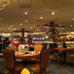 Photo taken at Captain George's Seafood Buffet by Gary B. on 3/2/2013