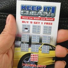 Photo taken at Keep It Clean Car Wash by Jennifer on 6/11/2013