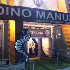Photo taken at Orogel Stadium Dino Manuzzi by Dante P. on 3/27/2013