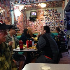 Photo taken at Sylvesters Burgers by Ken H. on 5/11/2014