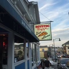 Photo taken at Mystic Pizza by barbee on 7/18/2015