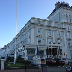 Photo taken at St George's Hotel by Simon J. on 1/27/2013