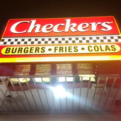 Photo taken at Checkers by Adam R. on 5/10/2015