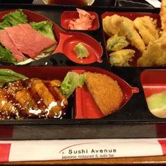 Photo taken at Sushi Avenue by Venus P. on 10/6/2014
